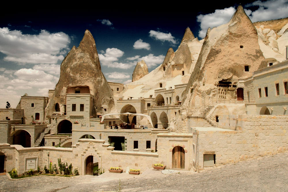 The cave dwellings of Goreme, Turkey.