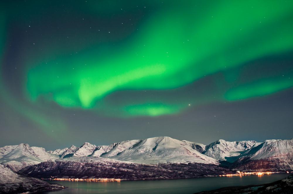 Surreal views of the Aurora Borealis phenomenon in Norway.
