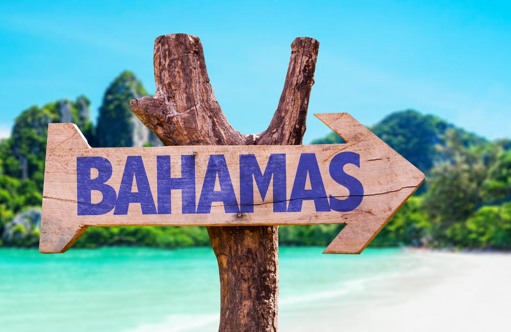 Bahamas sign.