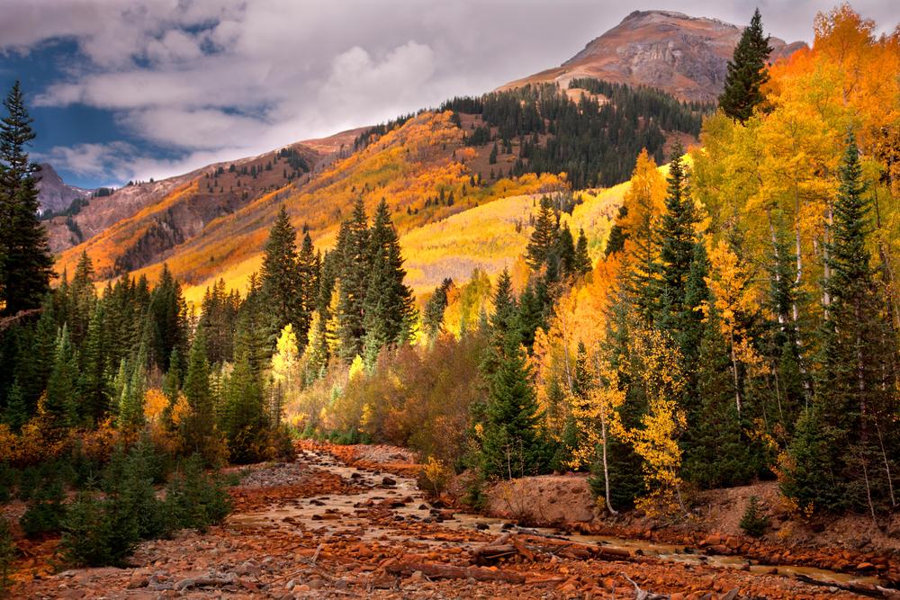 Colorado during fall.