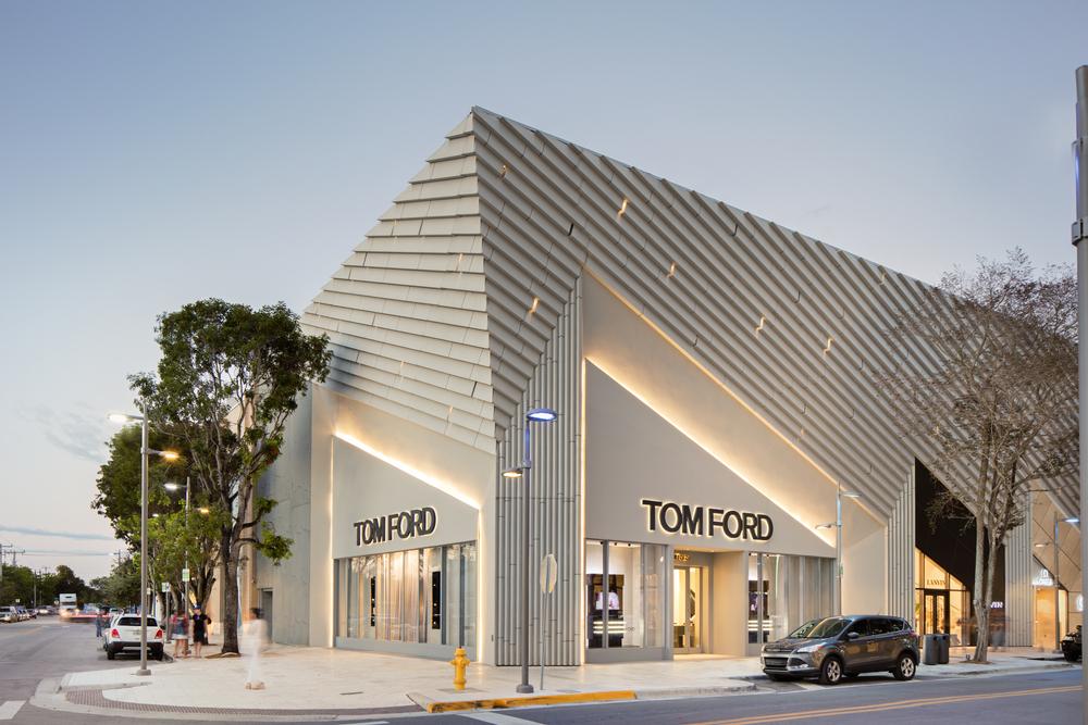 Tom Ford Store in Miami Design Destrict
