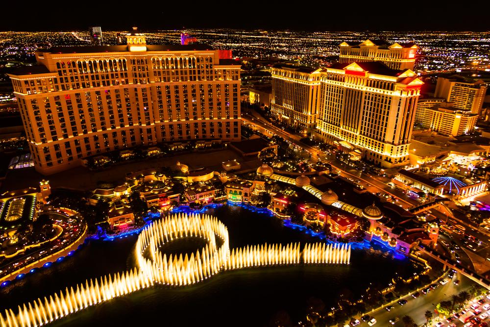 Las Vegas famous strip