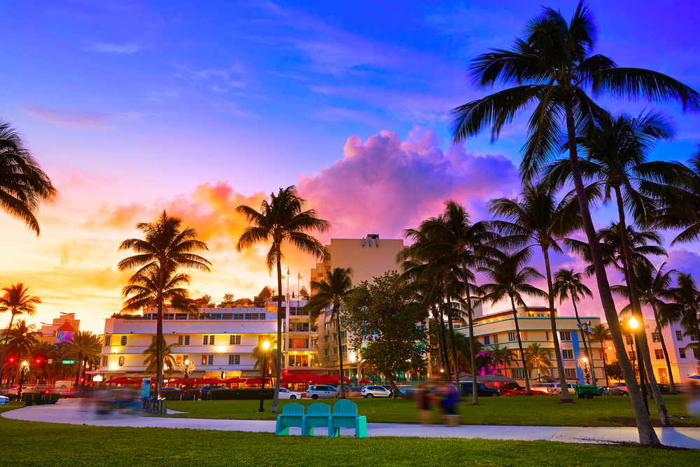 Art deco weekend Miami