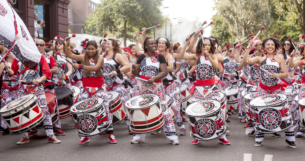 vine vera banner presents London's Biggest Street Party: Tips for Visiting Notting Hill Carnival